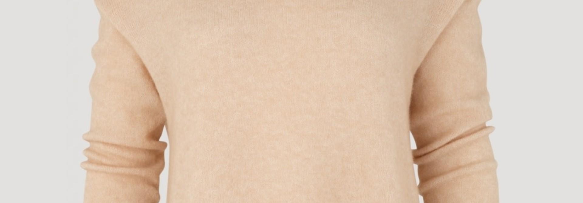 Annie blouse nude