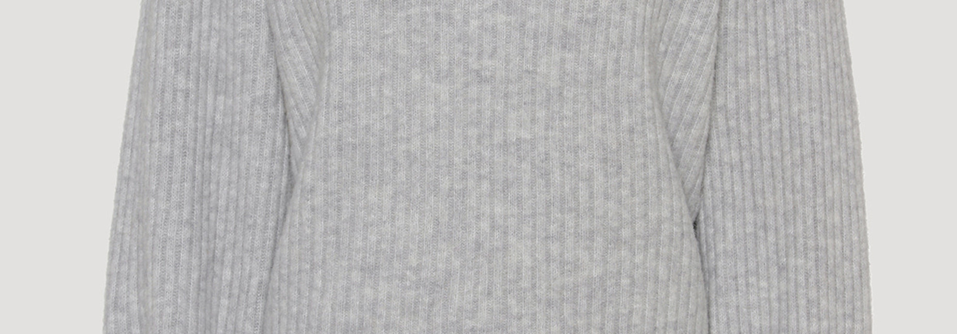 Avery blouse light grey melange