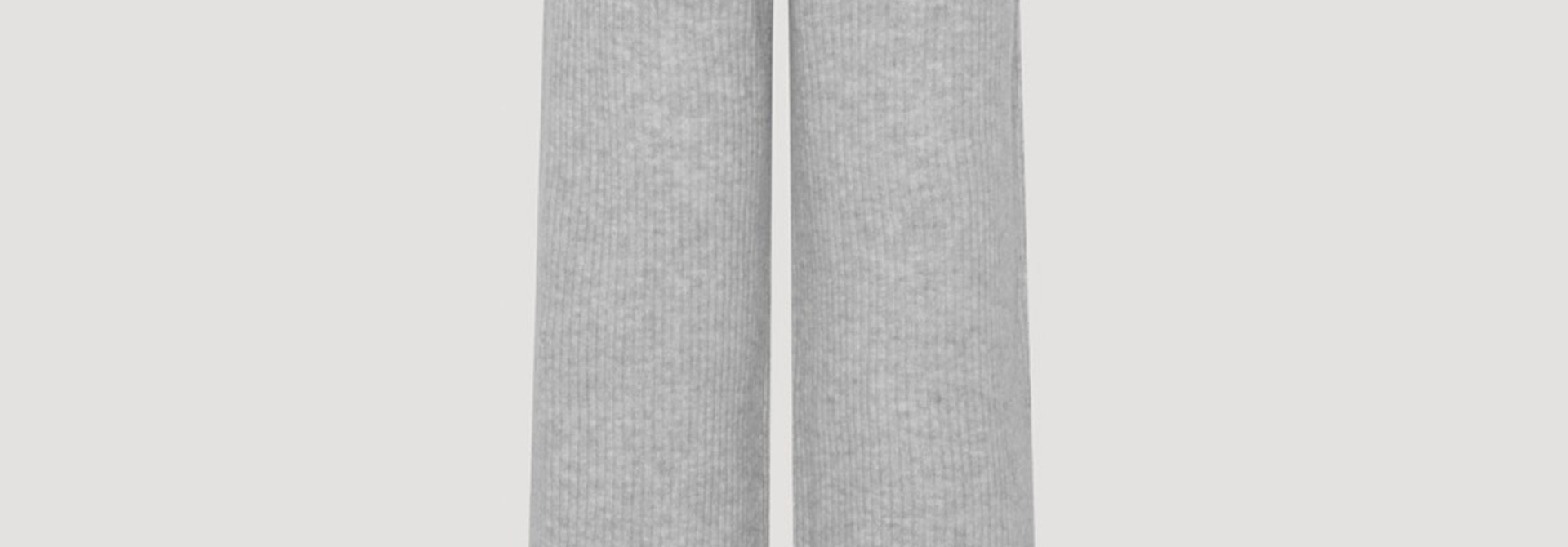 Avery pants light grey melange