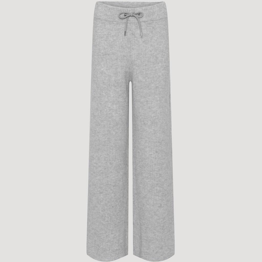 Avery pants light grey melange-1