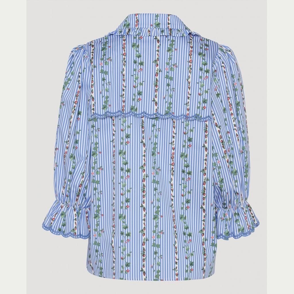 Ace  blouse stripe-2