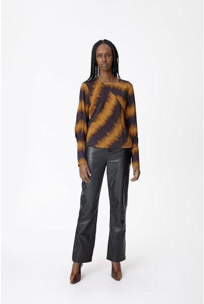 Ila blouse buckthorn brown