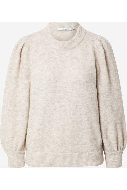 Alpha pullover white sand melange