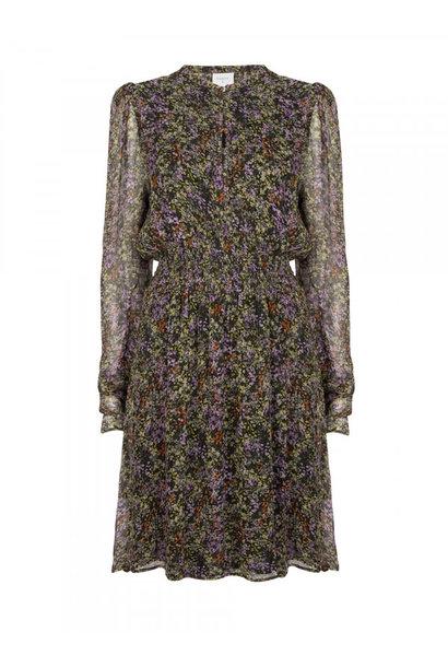 Dilara print dress