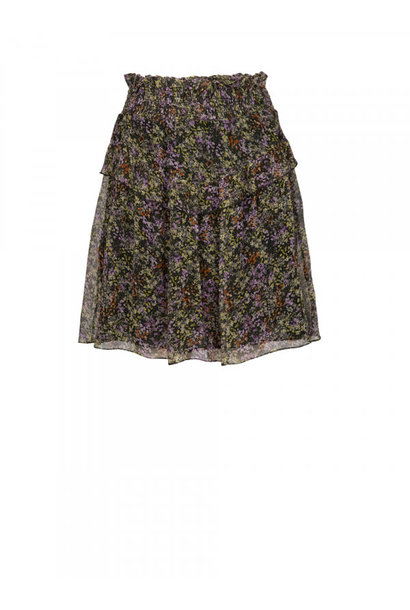 Amy print skirt