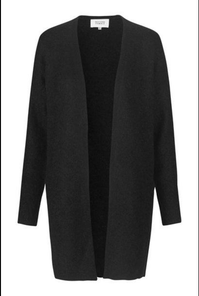 brook knit cape black