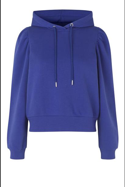 Carmelle sweat hoodie spectrum blue