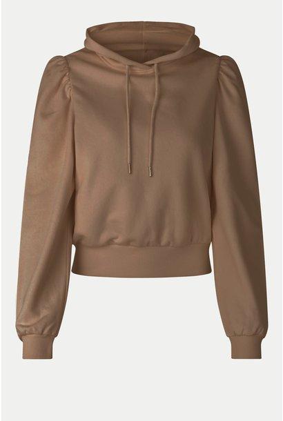 Carmella sweat hoodie otter