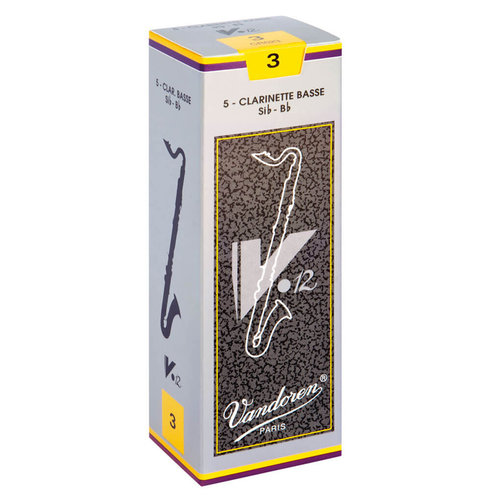 Vandoren Vandoren V12 Bass Clarinet Reeds (Box of 5)