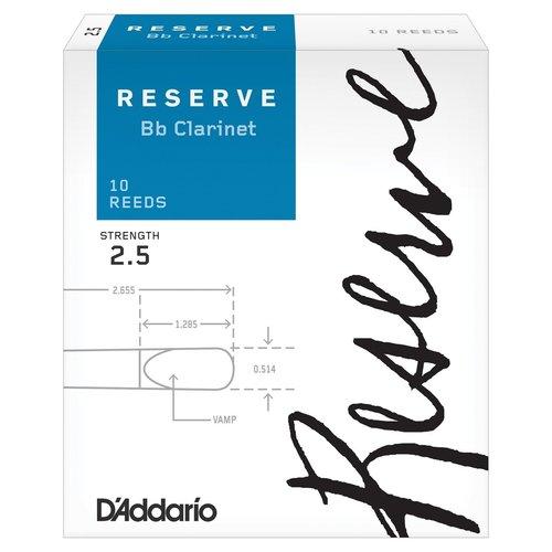 D'addario D'addario Reserve Bb Clarinet Reeds (Box of 10)