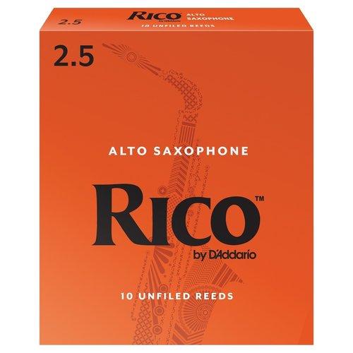 D'addario D'addario Rico Orange Box Alto Saxophone Reeds (Box of 10)