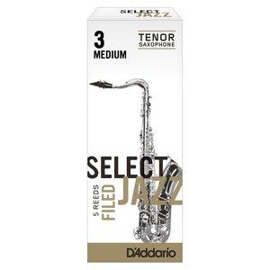 D'addario D'addario Select Jazz Tenor Saxophone Reeds - Filed (Box of 5)