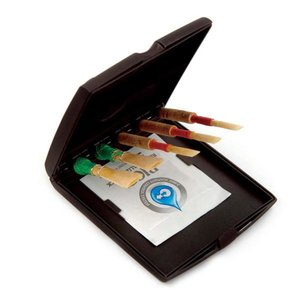 D'addario D'addario Double Reed Multi Reed Storage Case with Vitalizer Humidifier Pack