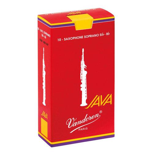 Vandoren Vandoren Red Java Soprano Saxophone Reeds (Box of 10)