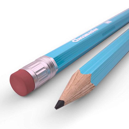 WM Pencil with Eraser : HB