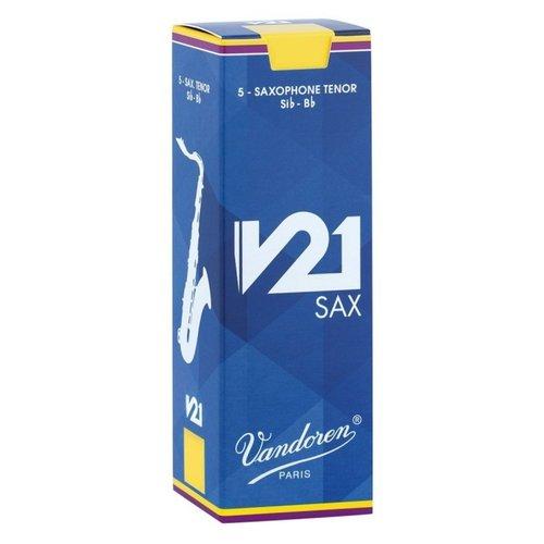 Vandoren Vandoren V21 Tenor Saxophone Reeds (Box of 5)