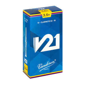 Vandoren Vandoren V21 Bb Clarinet Reeds (Box of 10)