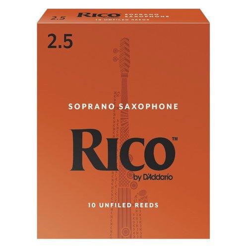 D'addario D'addario Rico Orange Box Soprano Saxophone Reeds (Box of 10)