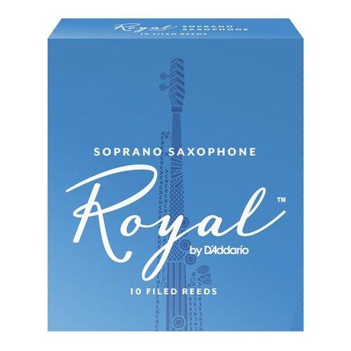 D'addario D'addario Royal Soprano Saxophone Reeds (Box of 10)