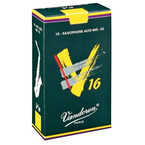 Vandoren Vandoren V16 Alto Saxophone Reeds (Box of 10)