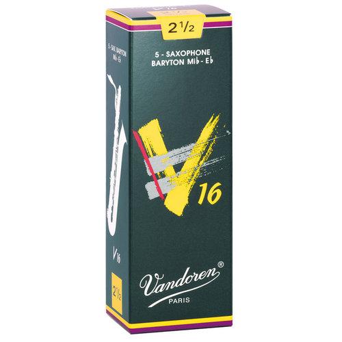 Vandoren Vandoren V16 Baritone Saxophone Reeds (Box of 5)