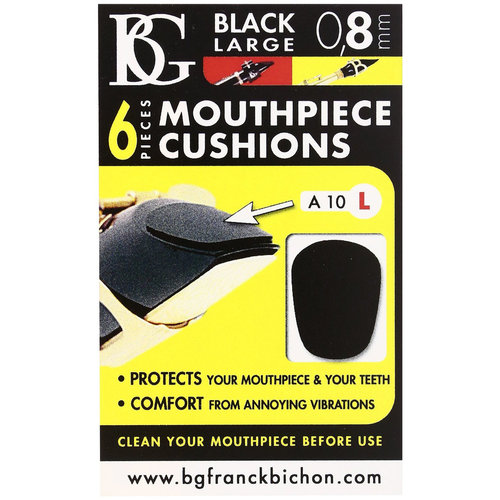 BG BG Mouthpiece Patch for Clarinet & Saxophone - Large / 0.8mm A10L