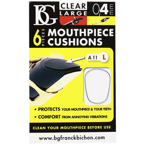 BG France BG Mouthpiece Patch for Clarinet & Saxophone - Large / 0.4mm A11L
