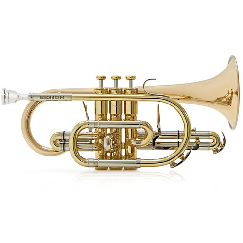 Besson Besson Sovereign BE928G Bb Cornet -  Lacquer