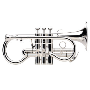 Besson Besson Sovereign 924G Soprano Cornet : Silver Plated