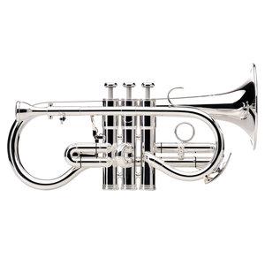 Besson Besson Sovereign 924G Soprano Cornet : Silver Plated