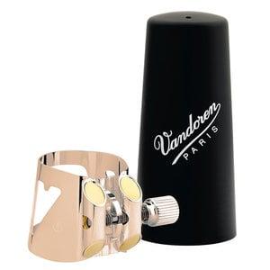 Vandoren Vandoren Optimum LC01PGP  Pink Gold  Bb Clarinet Ligature and Cap