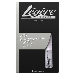 Legere Legere European Cut Bb Clarinet Synthetic Reed