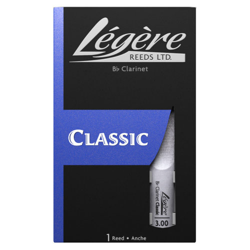 Legere Legere Classic Bb Clarinet Synthetic Reed