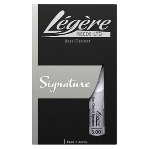 Legere Legere Signature Bass Clarinet Synthetic Reed