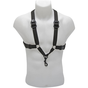 BG France S40SH Mens Comfort Saxophone Harness with Snap Hook