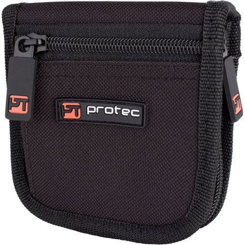 protec Trumpet Mouthpiece Pouch - Nylon With Zip Closure, 2-Piece