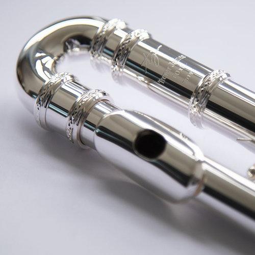 Trevor James Trevor James TJ10X  Curved Head Student Flute with Silver Lip Plate