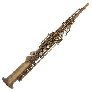 Conn-Selmer Conn-Selmer Premiere PSS380V Soprano Saxophone - Unlacquered