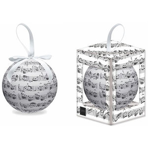 WM Christmas Tree Bauble - Music Notes
