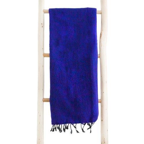 Népal Foulard Violet | couleur incroyable |  Un accroche-regard