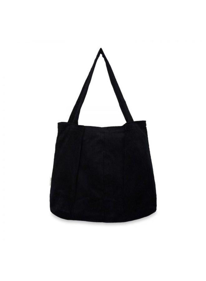 Luiertas Studio Noos - All black rib