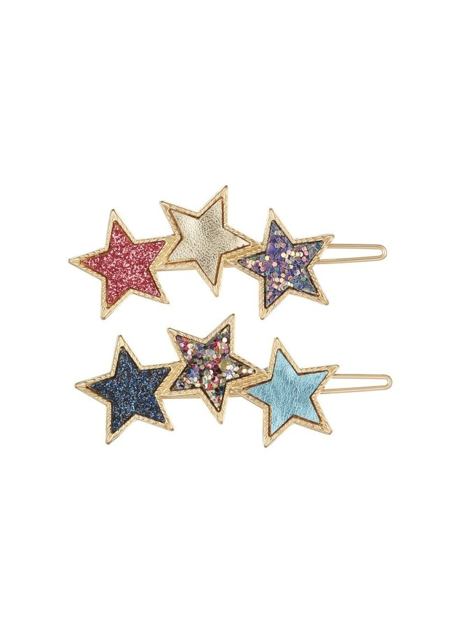 Haarclipjes - Stars
