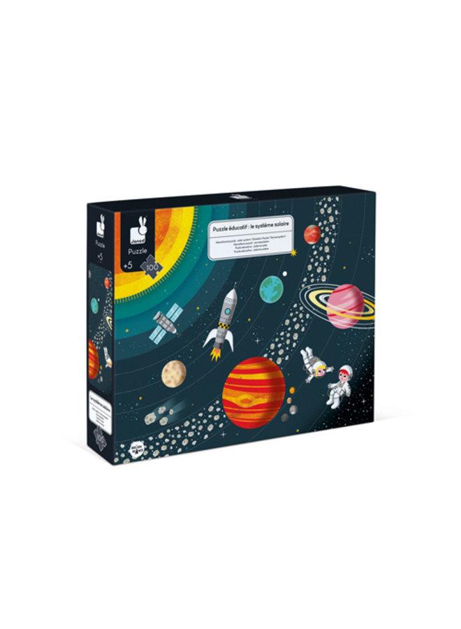Educatieve puzzel - Zonnestelsel