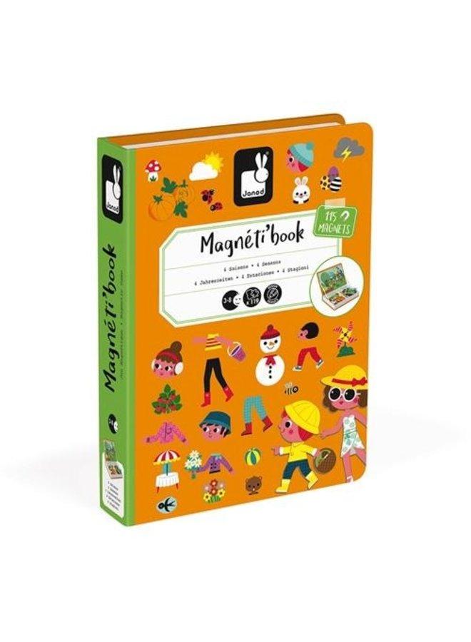Magneet boek - De vier seizoenen