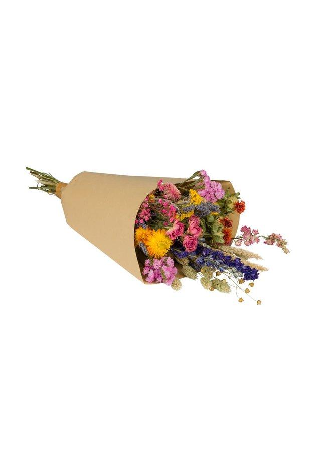 Droogbloemen multicolor - medium