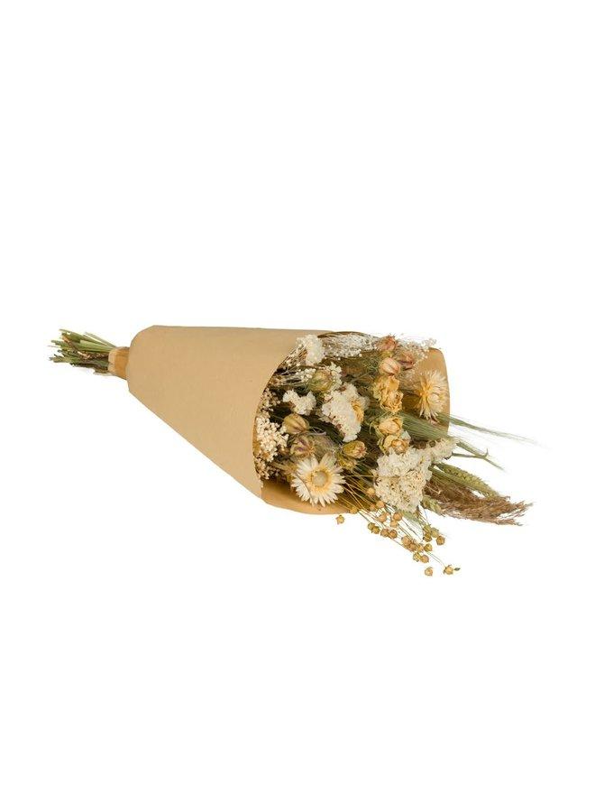 Droogbloemen naturel - medium