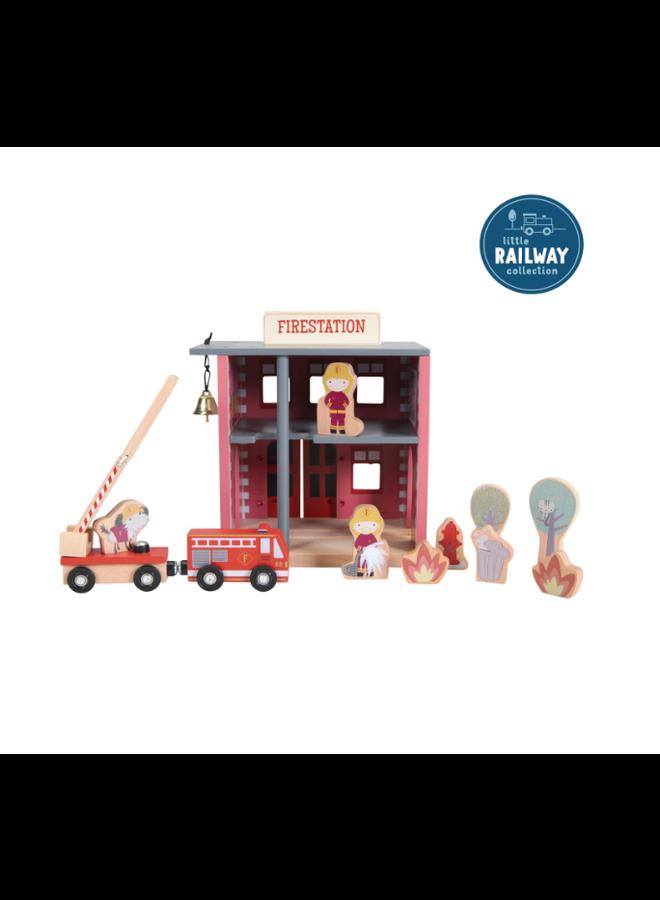 Treinbaanuitbreiding - Brandweer