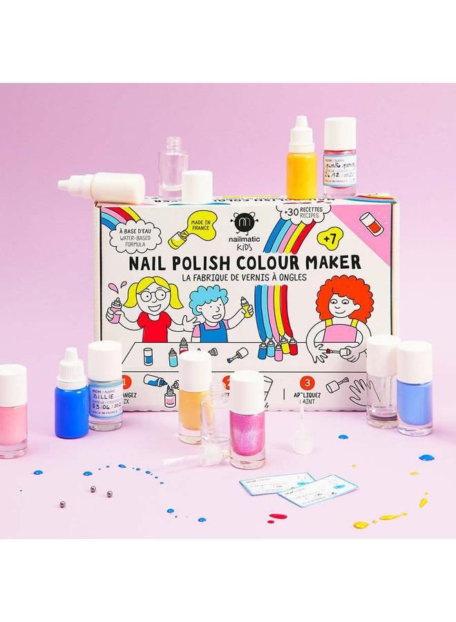 DIY nagellakset - Nailpolish colour maker