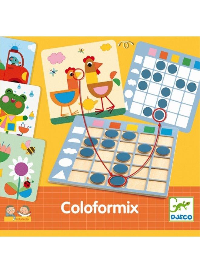 Bordspel - Kleuren en vormen