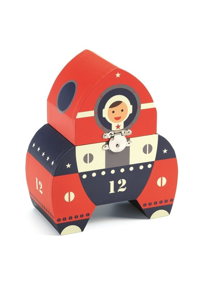 Muziekdoosje - Raket astronaut